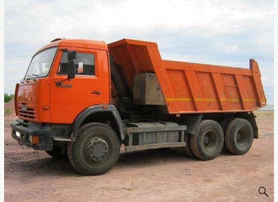 доставка щебня, отсева, песка, чернозёма, торфа и др. в Екатеринбурге