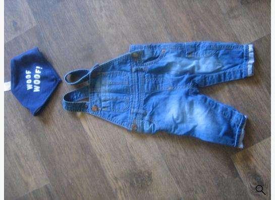 Продам детский джинсовый комбинзон zara в Новосибирске