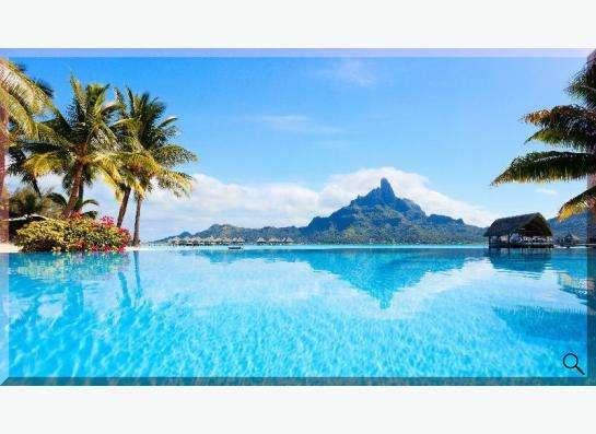 Картина на холсте: Острова Французской Полинезии