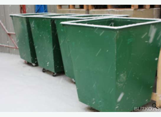 Контейнера, баки, урны для мусора в Красноярске