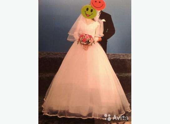 Свадебное платье с аксессуарами в Уфе фото 3