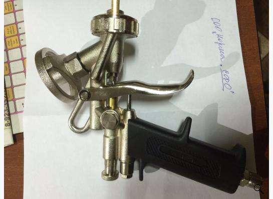 Пистолет напыления монтажной пены в Новосибирске фото 3