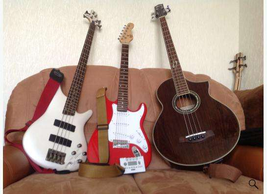 Уроки игры на гитар, бас-гитаре