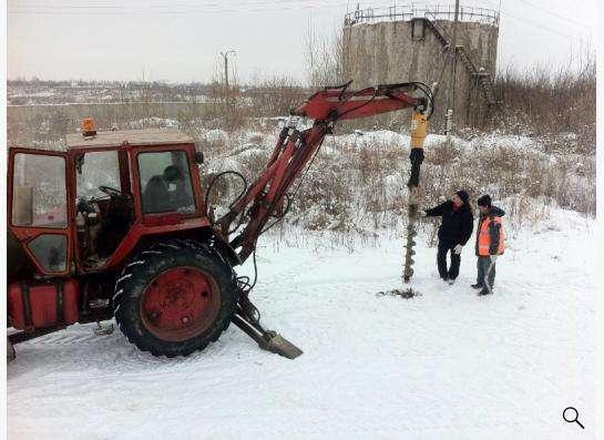 Бур на экскаваторы погрузчики (Англия) в Москве фото 3