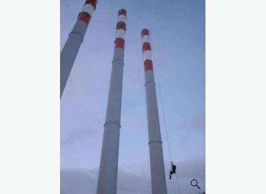 Дымовые трубы промышленные и для котелен