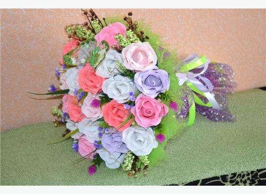 изготовление букетов ,корзинок из цветов ручной работы в Екатеринбурге фото 9