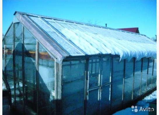 Каркас теплицы в Челябинске