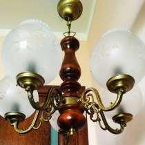 Люстра + светильник, SAMPA HELIOS France, в Ногинске