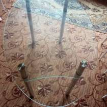 Стол кухонный стеклянный овальной формы, в Тюмени