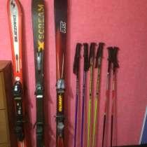 Продаются лижи палки и ботинки в отличном состоянии, в г.Санкт-Петербург