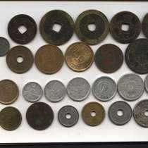 НАБОР: 24 монеты Японии с 1768 по 2008 гг, в Москве