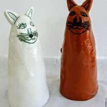 """статуэтки """"белая кошка, рыжий кот"""", в г.Иерусалим"""