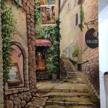 Роспись стен и потолка, в г.Париж