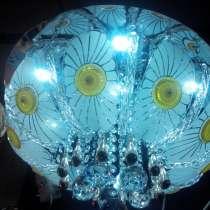 Новая LED люстра с пультом, в Омске