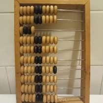 Счёты деревянные амбарные 24х16,5см, из СССР, в Москве