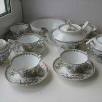 Старинный чайный сервиз. Восточная тема. Кузнецов, в г.Москва