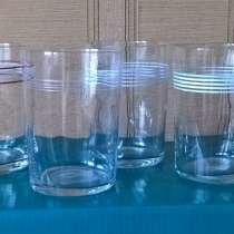 Стопка граненая и стаканы тонкостенные. СССР, в Новосибирске