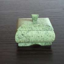 Шкатулка из натурального камня, в Москве