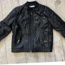 Куртка кожаная HM для мальчика р-р104, в Дмитрове