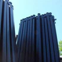 Столбы металлические круглого и профильного сечения, в Рязани