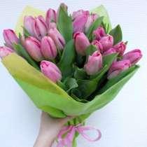 Тюльпаны к 8 марта доставка на офис, в г.Минск