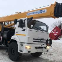 Продам автокран Галичанин 25тн-28м; Камаз-43118;2015г/в, в Самаре