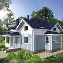 Деревянный дом из бруса Флигель-129 от компании МОГУТА, в Нижнем Новгороде