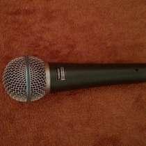 Микрофон Shure Beta 58A, в Санкт-Петербурге