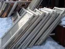 Продам оконные рамы со стеклом, Разных размеров, в Красноярске