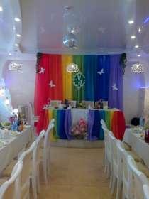 Украшаем торжества тканями, шарами, живыми цветами, в Ижевске