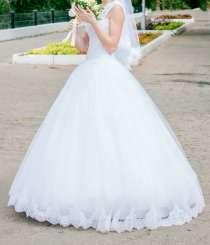 Продам красивое свадебное платье, в Саратове
