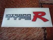 """Наклейки """"integra type R""""(Ровные)., в Омске"""