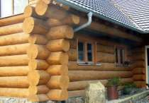 Дома из бревна рубленного и оцилиндрованного, в г.Гомель