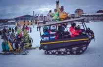 Сани «Snowmatic», в Череповце