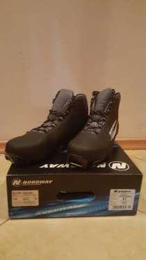 Ботинки для беговых лыж мужские, 41 размер. NORDWEY. НОВЫЕ, в Москве