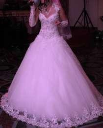 Роскошное свадебное платье, в Белгороде