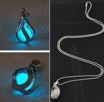 Светящийся кулон и цепочка в подарок, в Перми