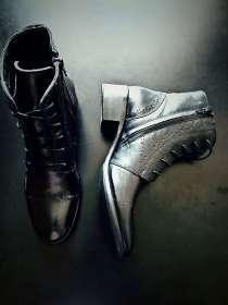 Кожаные Стильные Ботинки демисезон, в Владивостоке