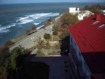 Белый отель у самого Черного моря, в Анапе