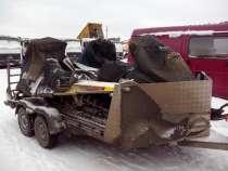 Прокат прицепа для двух или трёх снегоходов, в Новосибирске