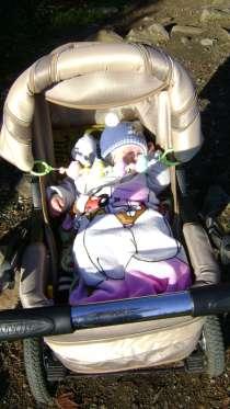 Детская каляска внедорожник зимняя, в г.Алушта
