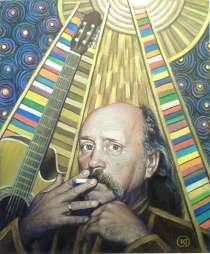 портрет Мулявина В.Г., в Москве