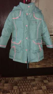 Детская зимняя куртка рост 125 см, в г.Петропавловск