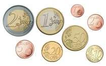 Евромонеты от 1 евроцента до 2 евро (погодовка), в Екатеринбурге