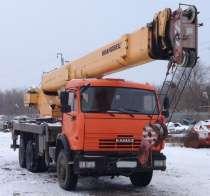 Автокран на шасси КАМАЗ-65115;Ивановец;КС-45717А-1Р;2012 г/в, в Белгороде