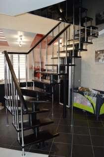 Модульная лестница в дом, в Липецке