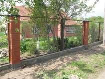 Секции заборные с сеткой или прутьями, в г.Медногорск