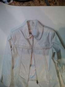 Куртка кожаная женская белая, в Барнауле