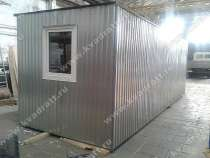 Блок-контейнер 6х2,4х2,4м, в Казани