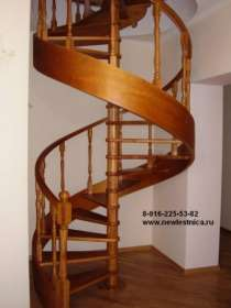 Лестницы из массива для дома и дачи Новая Лестница, в Мытищи